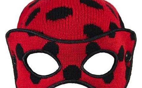 Čepice s maskou pro děti Lady Bug 515