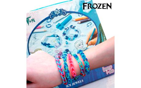 Gumičky na Náramky s Korálky Frozen