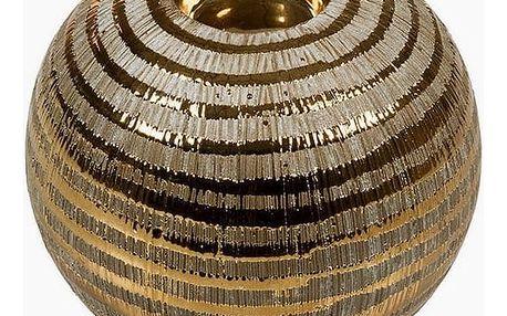 Svícen Keramický Zlatá - New York Kolekce by Homania