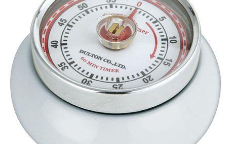 Zassenhaus Kuchyňská magnetická minutka Speed bílá