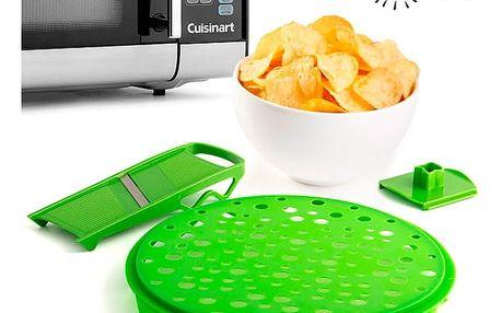 Souprava na Přípravu Bramborových Lupínků Crispy Crisp+