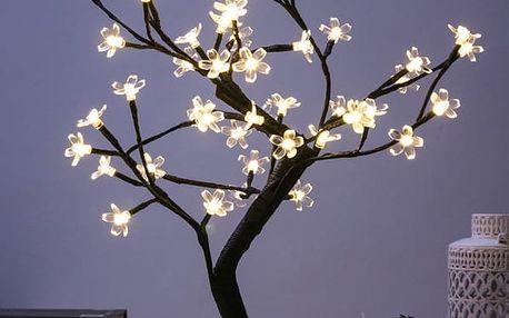 Dekorační Stromek s Kytičkami 48 LED