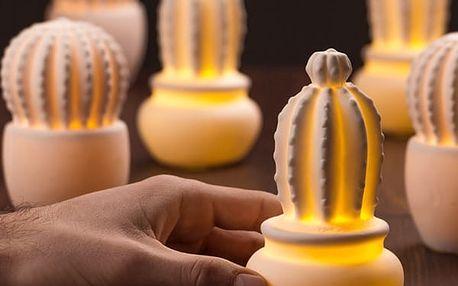 Keramický Kaktus s LED Shine Inline