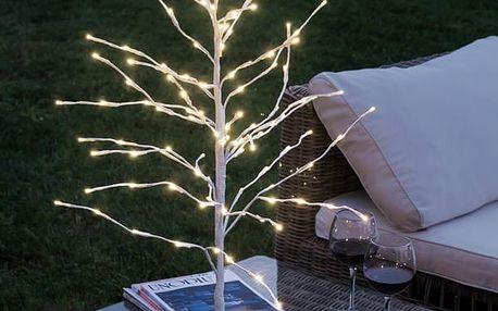 Zasněžený Dekorační Stromek 112 LED
