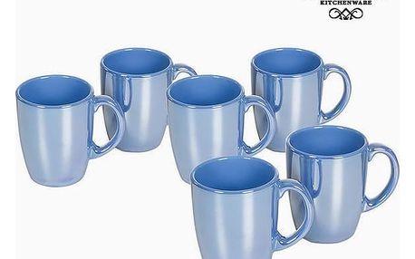 Set of jugs China crockery Modrý 6 pcs - Kitchens Deco Kolekce by Bravissima Kitchen