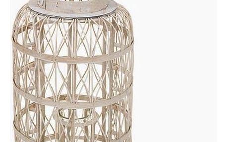 Svícen Bílý - Winter Kolekce by Homania