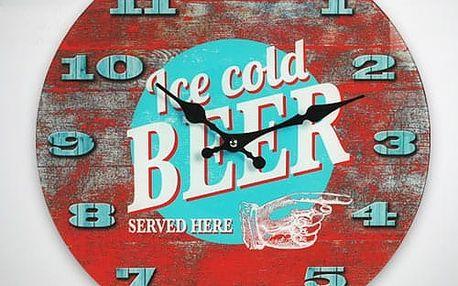 Nástěnné Hodiny Ice Cold Beer