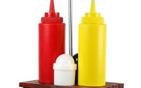Piknikový Stůl Sada na Dochucovadla