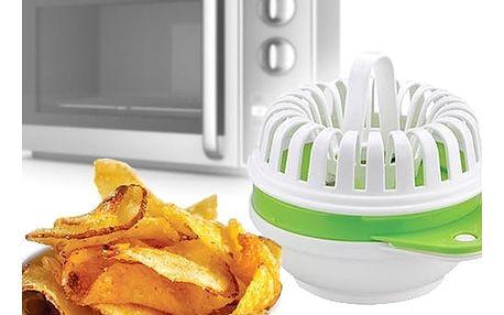 Always Fresh Chips Pomůcka na Přípravu Chipsů v Mikrovlnce