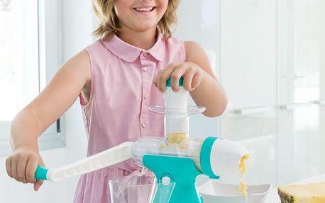 Přístroj na Přípravu Džusu a Zmrzliny s Klikou Juicy Joy