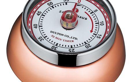 Zassenhaus Kuchyňská magnetická minutka Speed měděná