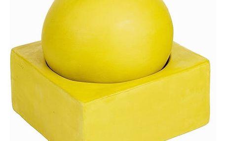 Kruhový Svícen s Podstavcem Žlutý - Enchanted Forest Kolekce by Homania