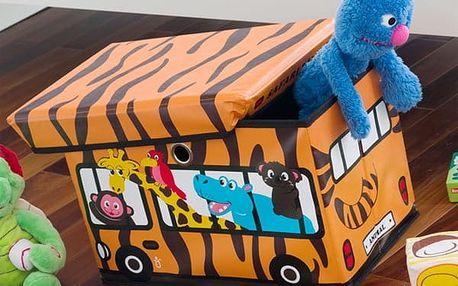 Skládací Box na Hračky Autobus Junior Knows