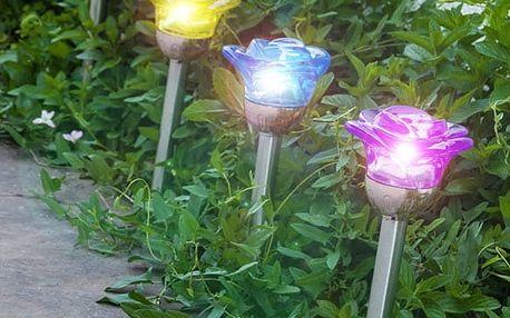 Solární Lampa Flower Oh My Home