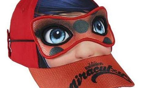 Klobouček pro děti s maskou Lady Bug 818 53 cm