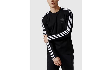 Mikina adidas Originals CURATED CREW Černá