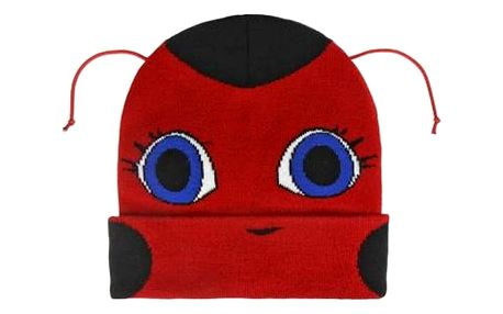 Čepice pro děti s tykadlami Lady Bug 628