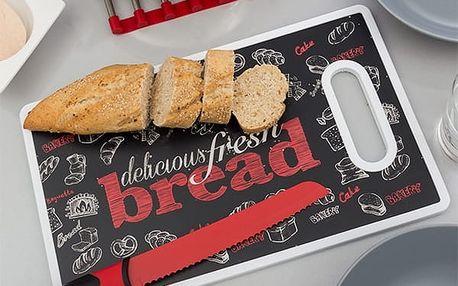 Krájecí Deska s Nožem Bread