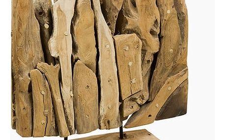Psací stůl Dřevo 40 x 12 x 40 cm by Craftenwood