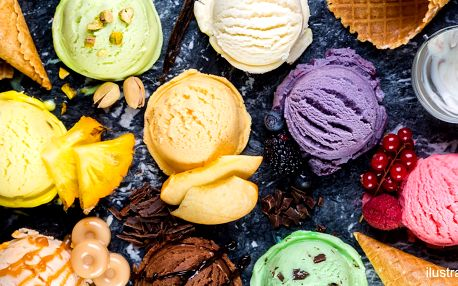 1,5 litru italské zmrzliny: připravte se na zimu