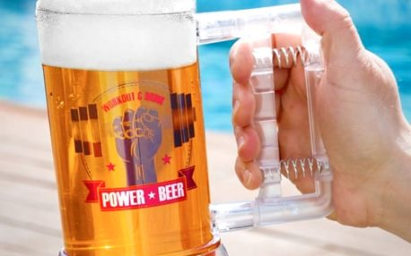 Sklenice na Pivo Power Gadget And Gifts