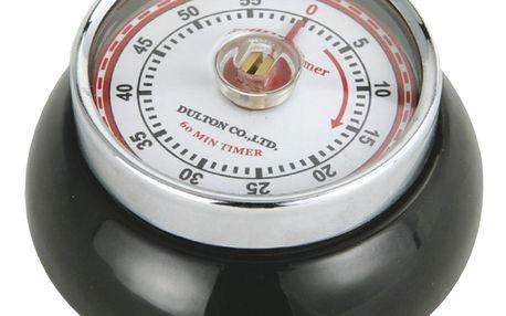 Zassenhaus Kuchyňská magnetická minutka Speed černá