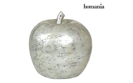 Silver apple figure by Homania