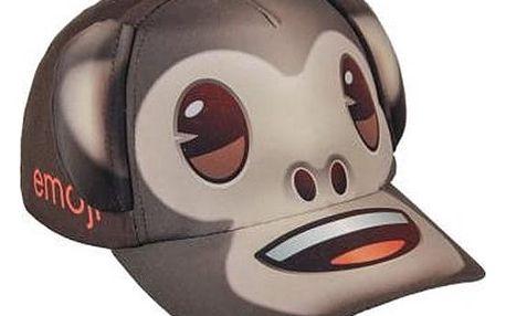 Klobouček pro děti s ochranou uší Emoji 038 55 cm