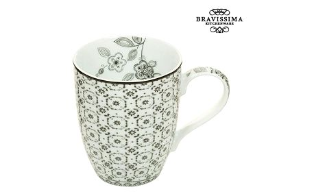 Cup Porcelán Geometrické tvary - Kitchens Deco Kolekce by Bravissima Kitchen