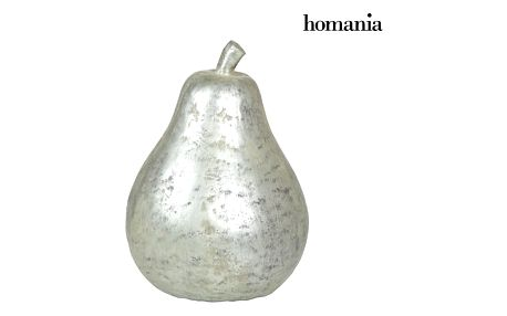 Silver pear figure by Homania