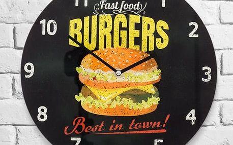 Nástěnné Hodiny Burgers