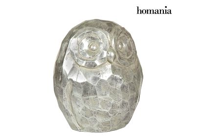 Silver owl figure by Homania