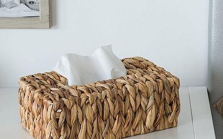 Krabice na Kapesníky z Kukuřičného Listu Oh My Home