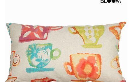 Barvaed cups cushion by Loom In Bloom