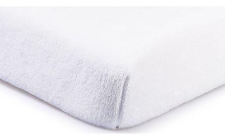 4Home prostěradlo mikroflanel bílá, 160 x 200 cm, 160 x 200 cm