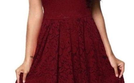Šaty pro dámy se spadlými rameny - 3 barvy