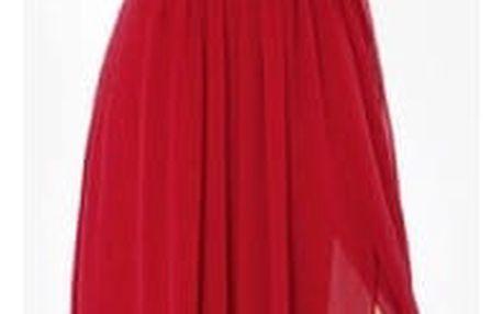 Plesové šaty s dvojitými ramínky