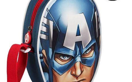 3D Taška přes Rameno Kapitán Amerika Avengers
