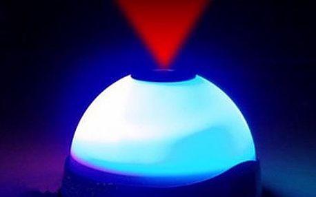 Projekční budík s osvětlením LED