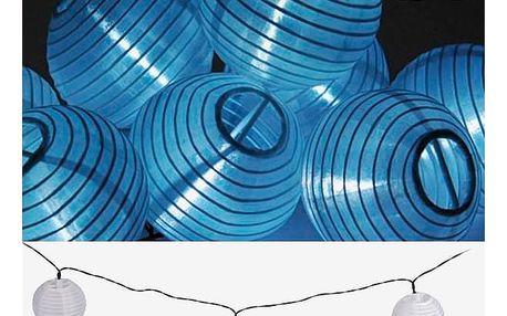 Solární Svíticí Řetěz s Bílými Lampionky Th3 Party 10 LED
