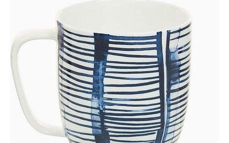 Cup Porcelán Pruhy Bílý - Kitchens Deco Kolekce by Bravissima Kitchen
