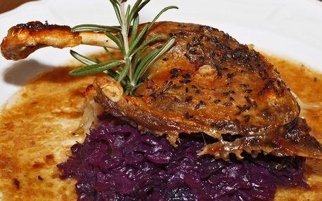 Staročeská romantická večeře u potůčku pro 2