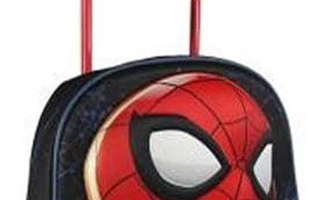 Školní taška na kolečkách 3D Spiderman 937