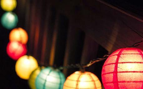 Skládací LED Lampiony Th3 Party 8 kusů