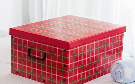 Úložná Kartonová Krabice s Víkem a Uchy Obrázky Oh My Home