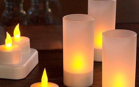 Nabíjecí LED Svíčky EmotiCandle 6 kusů