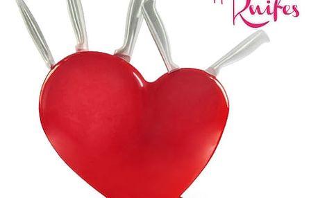 Sada Nožů v Srdcovém Bloku Heart of Knifes