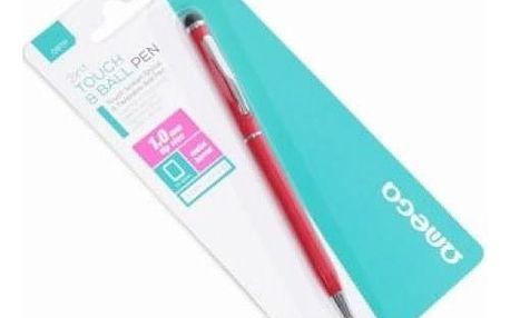Dotykové Pero s Propiskou Omega OSTPR Modrý inkoust Červený
