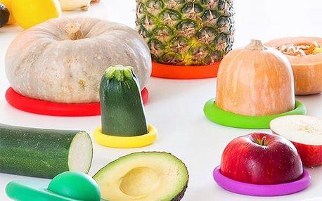 Set Silikónových Viečok na Potraviny InnovaGoods 6 kusov