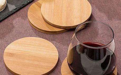 Set Bambusových Podtácků TakeTokio 4 kusy